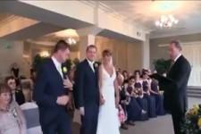 Die Ringe zur Hochzeit vergessen
