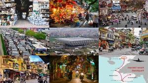 Hanoi Vietnam Hauptstadt