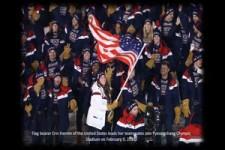 Opening winter Olympics in Pyeongchang -