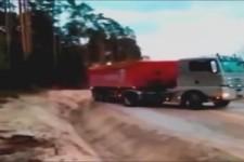So fährt Mann LKW