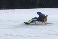Stuhl-Skifahren