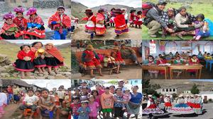 Kinder in Peru