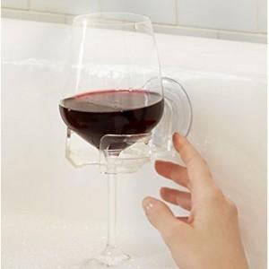 Getränkehalter mit Saugnapf für die Badewanne!