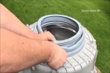 Kunst aus einer Waschmaschine machen