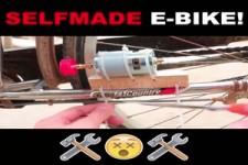 E-Bike selbst gebaut
