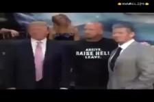 Ohrfeige von Trump