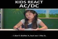 Kinder reagieren auf AC/DC (engl.)