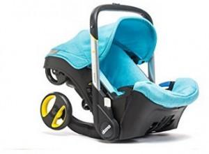 Kindersitz mit einem voll integrierten Fahrgestell!