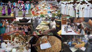 Muslime feiern Ramadan