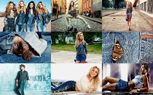 Blue Jeans - Blaue Jeans