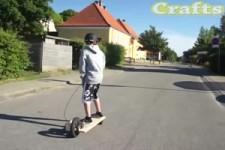 Wie man ein elektrisches Longboard macht