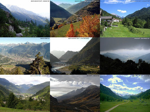 Italienische Alpentals