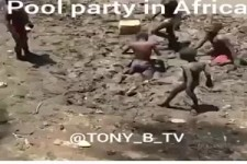 Pool party in Afrika