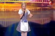 11 jähriges Mädchen aus der Ukraine jodelt