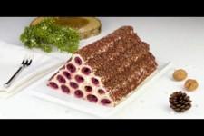 Kirsch Kuchen mal ganz anders - mit dieser Pyramide bist du