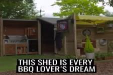 Tolle Idee für ein Gartenhaus