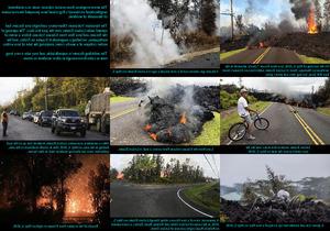 Mount Kilauea Erupts (Hawa ) - Vulkanausbruch auf Hawaii