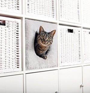Katzen-Kuschelhöhle fürs Regal!