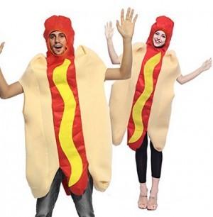 Jumpsuit im Hotdog-Design!