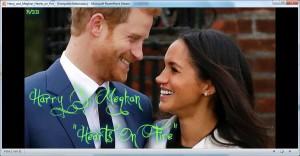 Harry & Meghan Hearts on Fire -