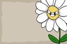 Die Biene und die Blumen