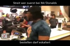 Streit bei Mc Donalds