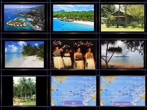 Inseln der Südpazifik
