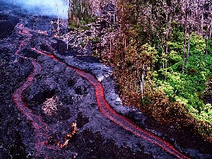 Vulcano eruption-Hawaii