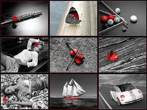 Black-White-And-Red