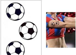 Fußball-Tattoo!
