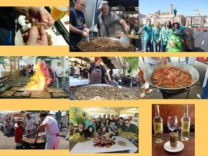 Spanien Lerida Schnecken Festival
