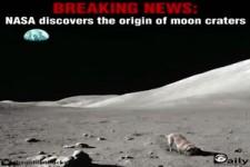 Nasa endlich entdeckt den Ursprung der Mondkrater