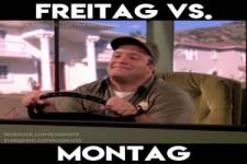 Freitag vs. Motag