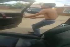Eine weitere dumme Herausforderung vom Beifahrer