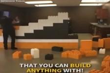Wände mit Lego bauen