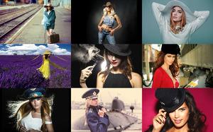 Girls & Hats - Mädchen und Hüte