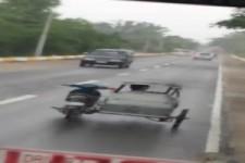 Vom Beiwagen aus steuern