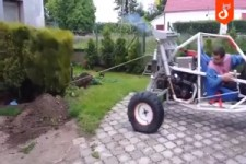 Gartenarbeit mal anders