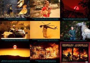 California Wildfires - Kalifornien Waldbrände