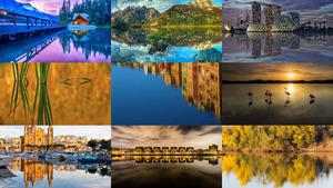 Reflections 6 - Spiegelungen 6