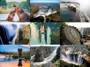 Zambezi - Fluss im südlichen Afrika