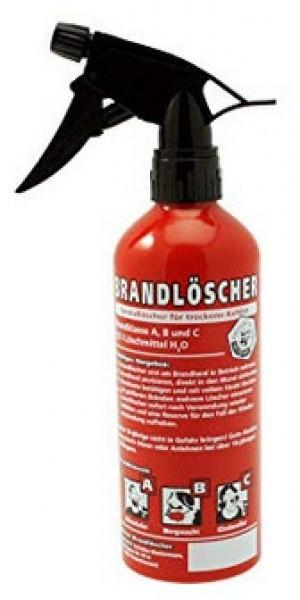 Brandlöscher!