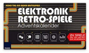 Elektronik-Retro-Spiele-Adventskalender 2018!