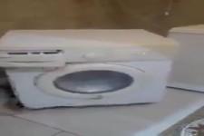 Verkaufe funktionsfähige Waschmaschine in gutem Zustand