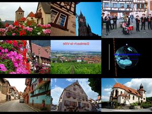 Dambach la ville France - Dambach die Stadt (Frankreich)