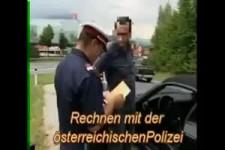 Polizist rechnet hahahahaha
