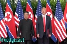 Donald Trump / Kim Jong Un Treffen -bayrisch