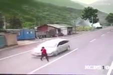 Heftige Unfälle