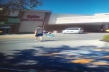 Böser Einkaufswagen