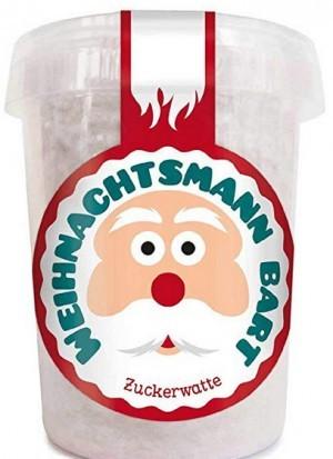 Zuckerwatte - Weihnachtsmann Bart!
